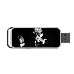 Frank Sinatra  Portable Usb Flash (two Sides) by Valentinaart