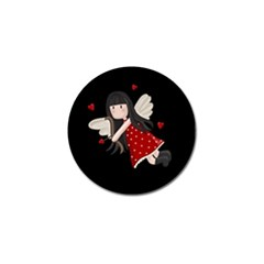 Cupid Girl Golf Ball Marker (10 Pack) by Valentinaart
