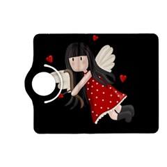 Cupid Girl Kindle Fire Hd (2013) Flip 360 Case by Valentinaart
