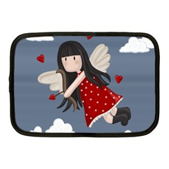Cupid Girl Netbook Case (medium)  by Valentinaart