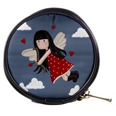 Cupid Girl Mini Makeup Bags by Valentinaart