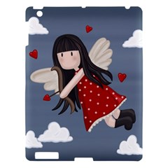 Cupid Girl Apple Ipad 3/4 Hardshell Case by Valentinaart
