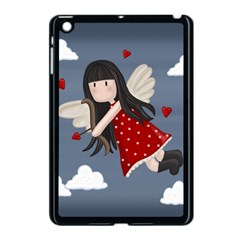 Cupid Girl Apple Ipad Mini Case (black) by Valentinaart