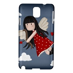 Cupid Girl Samsung Galaxy Note 3 N9005 Hardshell Case by Valentinaart