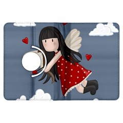 Cupid Girl Kindle Fire Hdx Flip 360 Case by Valentinaart