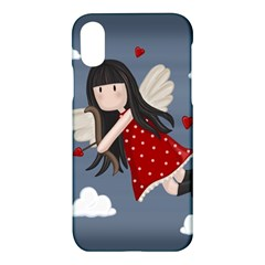 Cupid Girl Apple Iphone X Hardshell Case by Valentinaart