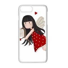 Cupid Girl Apple Iphone 8 Plus Seamless Case (white)