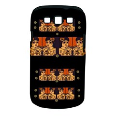 Geisha With Friends In Lotus Garden Having A Calm Evening Samsung Galaxy S Iii Classic Hardshell Case (pc+silicone) by pepitasart