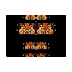 Geisha With Friends In Lotus Garden Having A Calm Evening Ipad Mini 2 Flip Cases by pepitasart