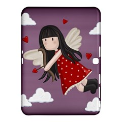 Cupid Girl Samsung Galaxy Tab 4 (10 1 ) Hardshell Case  by Valentinaart