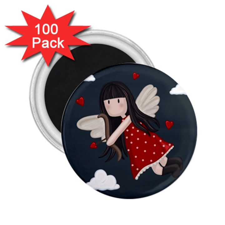 Cupid girl 2.25  Magnets (100 pack)