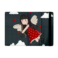 Cupid Girl Apple Ipad Mini Flip Case by Valentinaart