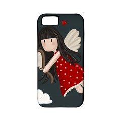 Cupid Girl Apple Iphone 5 Classic Hardshell Case (pc+silicone) by Valentinaart