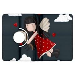 Cupid Girl Kindle Fire Hdx Flip 360 Case by Valentinaart