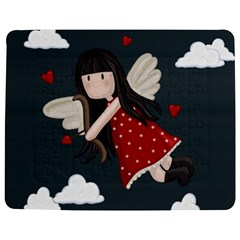 Cupid Girl Jigsaw Puzzle Photo Stand (rectangular) by Valentinaart