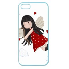 Cupid Girl Apple Seamless Iphone 5 Case (color) by Valentinaart