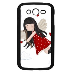 Cupid Girl Samsung Galaxy Grand Duos I9082 Case (black) by Valentinaart