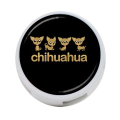 Chihuahua 4 Port Usb Hub (two Sides)  by Valentinaart
