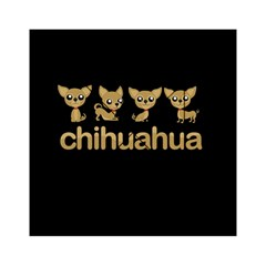 Chihuahua Acrylic Tangram Puzzle (6  X 6 ) by Valentinaart