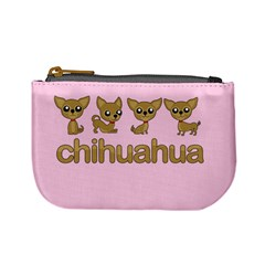 Chihuahua Mini Coin Purses by Valentinaart