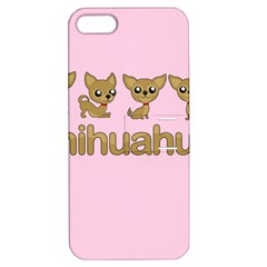 Chihuahua Apple Iphone 5 Hardshell Case With Stand by Valentinaart