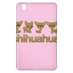 Chihuahua Samsung Galaxy Tab Pro 8 4 Hardshell Case by Valentinaart
