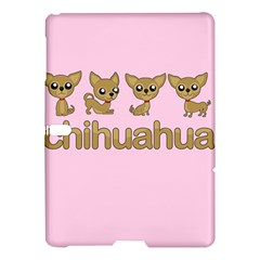 Chihuahua Samsung Galaxy Tab S (10 5 ) Hardshell Case  by Valentinaart