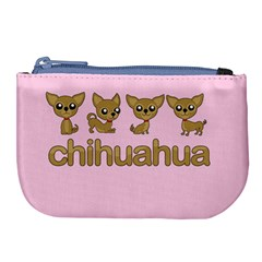 Chihuahua Large Coin Purse by Valentinaart