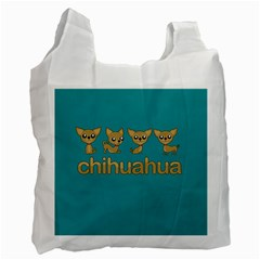 Chihuahua Recycle Bag (two Side)  by Valentinaart