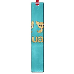 Chihuahua Large Book Marks by Valentinaart