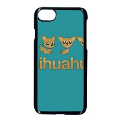 Chihuahua Apple Iphone 8 Seamless Case (black) by Valentinaart