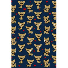 Chihuahua Pattern 5 5  X 8 5  Notebooks by Valentinaart