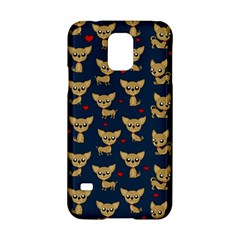 Chihuahua Pattern Samsung Galaxy S5 Hardshell Case  by Valentinaart