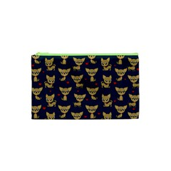 Chihuahua Pattern Cosmetic Bag (xs) by Valentinaart