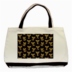 Chihuahua Pattern Basic Tote Bag (two Sides) by Valentinaart