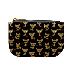 Chihuahua Pattern Mini Coin Purses by Valentinaart