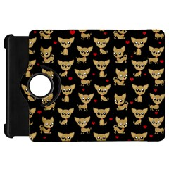 Chihuahua Pattern Kindle Fire Hd 7  by Valentinaart