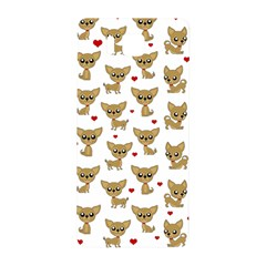 Chihuahua Pattern Samsung Galaxy Alpha Hardshell Back Case by Valentinaart