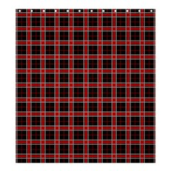 Coke Tartan Shower Curtain 66  X 72  (large)