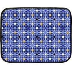Persian Block Sky Double Sided Fleece Blanket (mini)  by jumpercat