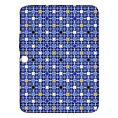Persian Block Sky Samsung Galaxy Tab 3 (10 1 ) P5200 Hardshell Case  by jumpercat