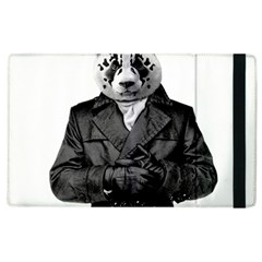 Rorschach Panda Apple Ipad 2 Flip Case