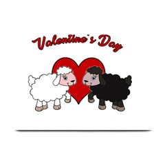Valentines Day   Sheep  Plate Mats by Valentinaart