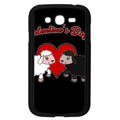 Valentines Day   Sheep  Samsung Galaxy Grand Duos I9082 Case (black) by Valentinaart