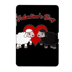 Valentines Day   Sheep  Samsung Galaxy Tab 2 (10 1 ) P5100 Hardshell Case  by Valentinaart