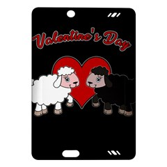 Valentines Day   Sheep  Amazon Kindle Fire Hd (2013) Hardshell Case by Valentinaart