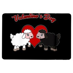 Valentines Day   Sheep  Ipad Air Flip by Valentinaart