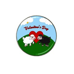 Valentines Day   Sheep  Hat Clip Ball Marker (10 Pack) by Valentinaart