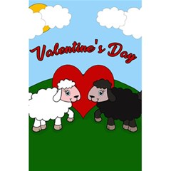Valentines Day   Sheep  5 5  X 8 5  Notebooks by Valentinaart