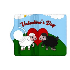 Valentines Day   Sheep  Kindle Fire Hd (2013) Flip 360 Case by Valentinaart